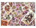 アニメーションジグソーパズルシリーズ 趣味のパズル ディズニーシリーズ ステンドアートジグソー 1000ピースパズル 【DS-1000-767 ディズニー オールスター トランプ ワールド】 〈Disney jigsaw puzzle 玩具 おもちゃ 1000ピース知育〉