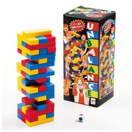 玩具 楽しく遊べるおもちゃ バランスゲーム UNBALANCE アンバランスM2 カラフル…...:suzukatu:10025637