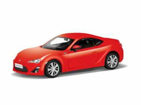 乗用車コレクションカーコレクションミニカー趣味の玩具・模型キャストワールドトヨタ86赤〈自動車模型車