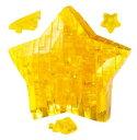 アニメーションジグソーパズル 趣味のパズル 透明ピースを組み上げる立体ジグソーパズル クリスタルパズル 38ピース 【スター】 〈cryst...