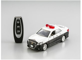 聲光控制模型車關鍵遙控玩具興趣! PiPiTKEY 鷚關鍵豐田皇冠員警車 q 迷你巡邏車無線電豐田豐田汽車模型成人和兒童玩具玩具嗎?