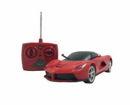 ホビーラジコン趣味の玩具・模型カーコレクションRC1/24フェラーリ・ラフェラーリ〈R/CカーRCカ
