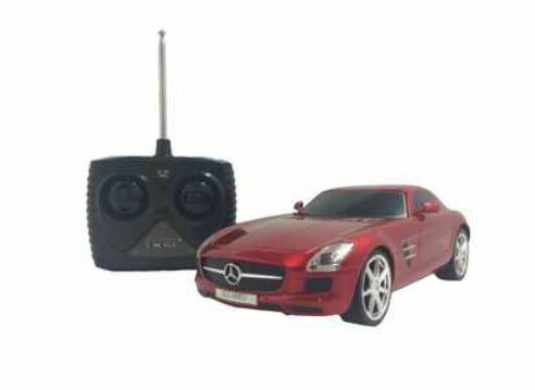 ホビーラジコン趣味の玩具・模型カーコレクションRC1/24メルセデス・ベンツSLSAMG〈R/Cカー