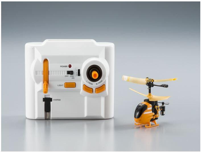 ホビーラジコン趣味の玩具・模型カーコレクションRC世界最小(2014年12月現在)トイヘリコプター赤