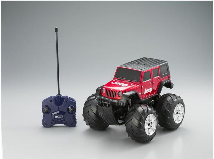 ホビーラジコン趣味の玩具・模型カーコレクションラジコントロールカーW-DRIVEジープラングラー〈R