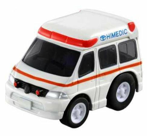 楽しく遊べるおもちゃ・玩具乗用車コレクションカーコレクションチョロQQ-12ハイメディック救急車〈趣