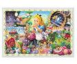アニメーションジグソーパズルシリーズ 趣味のパズル ディズニーシリーズ 108ピースパズル 【D-108-966 アリスの世界(ふしぎの国のアリス)】 〈Disney jigsaw puzzle 玩具 おもちゃ 不思議の国のアリス 108ピース知育〉
