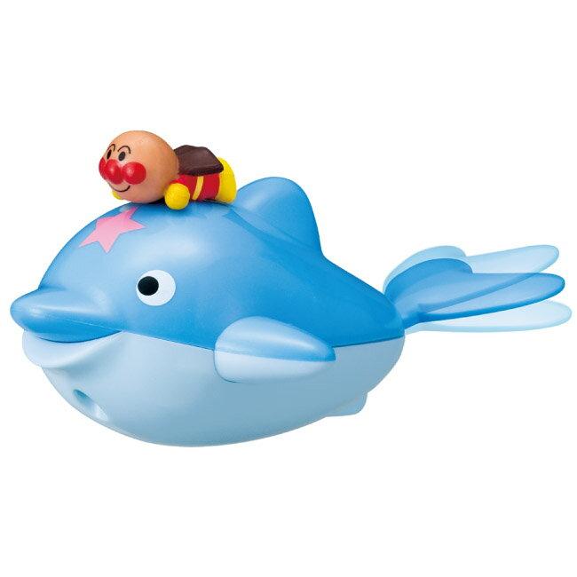 お風呂のおもちゃ 玩具 それいけ!アンパンマン 遊び心いっぱい!アンパンマンのバストイ アンパンマンとミニイルカ 〈子供用 子ども こども 幼児 ベビートイ おふろ いるか さかな 魚 通販〉 -