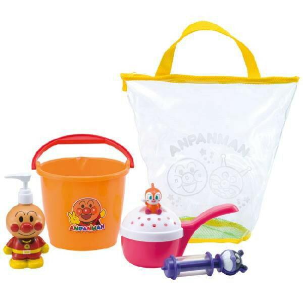 玩具楽しく遊べるお風呂のおもちゃそれいけアンパンマンあそびいっぱいおふろバケツセット〈ベビー・幼児子