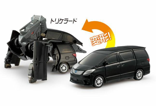 コレクションミニカー趣味の玩具・模型爆速救急ダイヤロボDiaRobo変形ミニカーDR-0021トヨタ