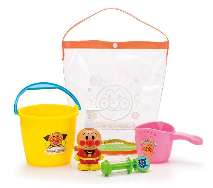玩具楽しく遊べるお風呂のおもちゃそれいけアンパンマンあそびいっぱいおふろバケツセット〈子供用玩具洗面