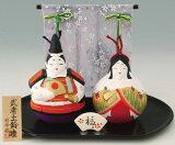 陶器製 土鈴・福鈴 五月人形 武者めおと福鈴 若大将 仲睦夫婦飾り 支えあう、仲むつまじい夫婦飾りです。 〈開運招福の縁起物! 5月人形 端午の節句 子供の日 五月五日 5月5日