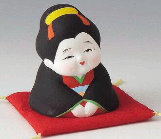 幸運的瓷器小你好 !  Q 好運招手把很多的陶俑日本室內財產運氣嗎?
