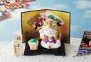 陶器製 四季物語り・季節の行事 5月、皐月の置物 端午の節句 子供の日 招き猫
