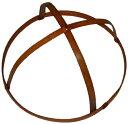 特製 桃の節句のつるし飾り(雛の吊るし飾り・ひなのつるし飾り・さげもん・傘福)用 竹の輪(中4) 輪の直径20cm〜22cm (約21cmの商品ですが、自然素材の手作り品につき、表示内での御提供になります。)