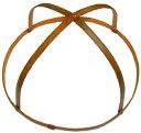 特製 桃の節句のつるし飾り(雛の吊るし飾り・ひなのつるし飾り・さげもん・傘福)用 竹の輪(大4) 輪の直径26cm〜28cm (約27cmの商品ですが、自然素材の手作り品につき、表示内での御提供になります。)
