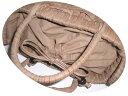かご茶色綿生地巾着付中袋つけ・かご同時購入500引き