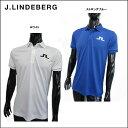 【J.LINDEBERG/J.リンドバーグ】071-25546メンズ ポロシャツ Big Bridge◇Poloshirt