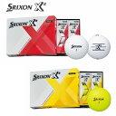 【DUNLOP/ダンロップ】SRIXON/スリクソンスリクソンX21ダース(12個)ゴルフボール