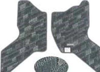 真正的 DA62 地板墊和地毯圖案名稱︰ 石地板配件鈴木原裝配件地板地毯卡邁特地毯地墊每個可選配件