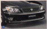 アルテッツァ フロントスポイラー 廃止カラーは弊社で塗装 トヨタ純正部品 アルテッツァ パーツ gxe10 パーツ 純正 トヨタ トヨタ純正 toyota 部品 オプション スポイラー