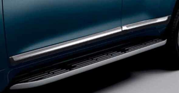 【ランドクルーザープラド】純正 TRJ150 サイドモール パーツ トヨタ純正部品 landcruiser オプション アクセサリー 用品