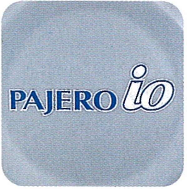 『パジェロイオ』 純正 H76 H77 ステッカーセット(PAJERO io) パーツ 三菱純正部品 シール デカール ワンポイント PAJERO オプション アクセサリー 用品