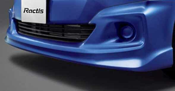 『ラクティス』 純正 NCP120 NCP125 NSP120 フロントスポイラー S・G・X用 パーツ トヨタ純正部品 カスタム エアロパーツ ractis オプション アクセサリー 用品