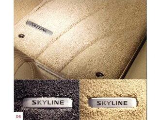 股票 HV37 HNV37 ZV37 溢價地板地毯一分鐘部分日產純正配件地毯地墊地墊地毯墊天際線選項配件