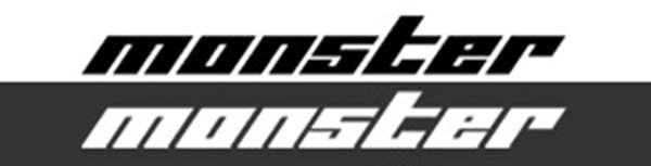rmhw026-4 切り文字ステッカー 小 370×45 *切り抜き 896135-0000M ワゴンR 白 汎用 モンスタースポーツ スズキスポーツ