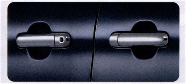 ソリオバンディット ドアハンドルガーニッシュ 1台分(4個)セット  スズキ純正部品 ソリオバンディット パーツ MA15S  パーツ 純正 スズキ スズキ純正 SUZUKI 部品 オプション ステアリング ソリオ MA15S 用のパーツ