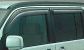 【ステップワゴン】純正 RF3 ドアバイザー/3枚セット パーツ ホンダ純正部品 サイドバイザー 雨よけ 雨除け STEPWGN オプション アクセサリー 用品