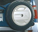 【パジェロミニ】純正 H53 H58A スペアタイヤカバー パーツ 三菱純正部品 自動車 劣化防止 背面タイヤ PAJERO オプション アクセサリー 用品