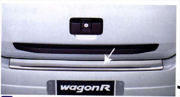 『ワゴンR』 純正 MC21 MC11 リヤバン...の商品画像