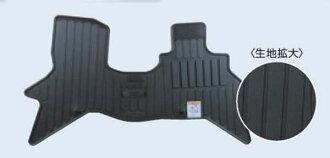 真正 DR17V 地板墊 (橡膠墊) 拆分折疊後排座椅配件日產純正配件地板地毯卡邁特地毯地墊選項配件