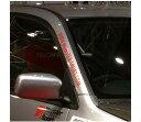 ogrn033 MSドットコム ステッカー ZZZB45 ワゴンR クリア×レッド 汎用 モンスタースポーツ スズキスポーツ