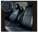 【デミオ】純正 DJ3FS DAMD 本革調シートカバー(ブラック) パーツ マツダ純正部品 座席カバー 汚れ シート保護 DEMIO オプション アクセサリー 用品