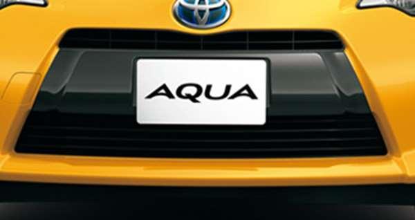 flor011 『アクア』 純正 NHP10 フロントガーニッシュ パーツ トヨタ純正部品 aqua オプション アクセサリー 用品