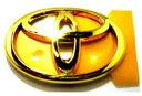 マークX ゴールドエンブレムトヨタシンボル (リヤ用) トヨタ純正部品 マークX パーツ grx120 パーツ 純正 トヨタ トヨタ純正 toyota 部品 オプション エンブレムゴールド メール便可能