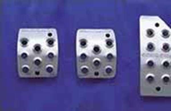 『ラパン』 純正 HE21 アルミペダルセット(MT車用) パーツ スズキ純正部品 アクセルペダル ブレーキペダル lapin オプション アクセサリー 用品