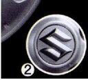 アルミホイールセンターキャップ 1個からの販売 ランディ SC25 SNC25 スズキ純正 landy パーツ 部品 オプション