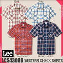 Lee ウエスタンシャツ LCS43008   ユニフォーム...