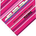 ショッピングプラレール ネクタイ 電車 トミカ プラレール 新幹線「さくら」赤ピンク系 ストライププレゼント ギフト 贈り物
