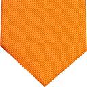 ネクタイ 無地 オレンジ黄色系 プレゼント ギフト 贈り物