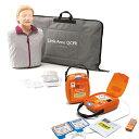 「AED・トレーニングユニット・TRN-3100」+「CPR訓練用人形・レールダル・リトルアン」セット