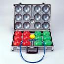 [サンラッキー]【室内用ペタンク】室内用ソフト球セット*ハードケース付き*