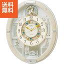 【送料無料】セイコー 電波からくり掛時計〈RE576A〉(b...