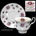 ロイヤルアルバート Royal Albert 1966年 スウィートバイオレット Sweet Violet スミレ菫 カップ&ソーサー 未使用 廃版品