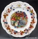 ロイヤルドルトン Royal Doulton ブランブリーヘッジ オータム 飾り皿プレート ユーズド