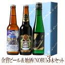 お歳暮ギフトビールクラフトビール世界一金賞受賞スワンレイクビールと日本酒の3本詰め合わせ世界的レストランNOBUブランド純米大吟醸地ビール地酒酒送料無料